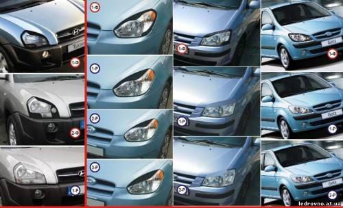 Ресницы Hyundai